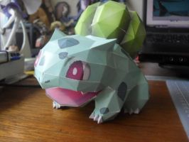 Papercraft - Bulbasaur 01 by ckry