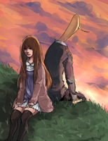 oyasumi punpun by HastySkitty456