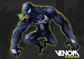 VENOM tribute by IZZARCHRON