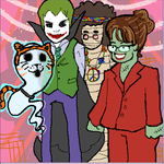 Reverse Halloween Party by AquaticFishy