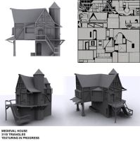 wip medieval house by ricolas71