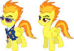 Spitfire (Wonderbolt) by 90Sigma