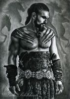 Khal Drogo by slightlymadart