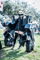 Black Rock Shooter - STRength cosplay by Distorted-Ai