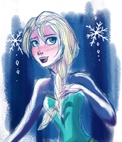 An Elsa Quickie by chocolatesmoothie