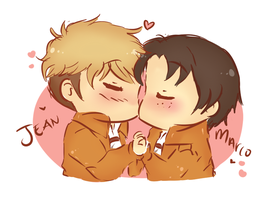 [SnK] Chibi Jeanmarco by THE-L0LLIP0P