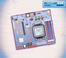 AMD mainboard-patching game 02 by jongart