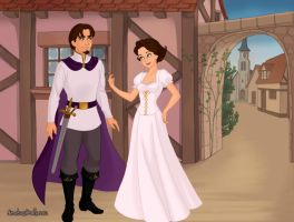 Tangled Ever After Princess and Prince Consort by ArielxJim08