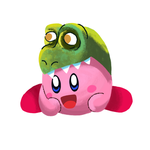 Daily Doodle #7 Weird Kirby by RobertSalgado