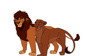 Kovu and Kiara's kids (CLOSED) by H-0ney
