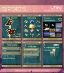 SE W580i Theme - Birdies by punksafetypin