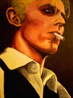 David Bowie: Thin White Duke by asamamoru