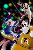 Dance Adventure Time by miitoons