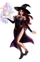 Dragons crown sorceress by Raul-Leyva