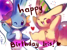 happy birthday Iris!! by kori7hatsumine