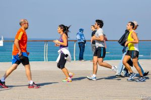 Friday Jogging - Yaffa by Rikitza