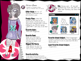 Monster High Feisu-Onna Bio by A-Scary-Little-Girl