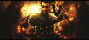 Adam Jensen by BrunoWC