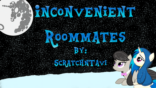 Inconvenient Roommates Cover Art by DonnEStarside