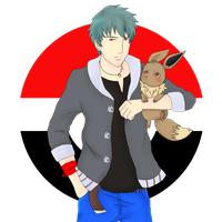Heiden: Pokemon trainer OC by BlueKappa