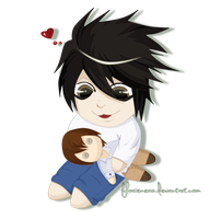 Another Lawliet chibi by florixnero