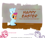 PC 6: Easter Scootabunny by postcactus