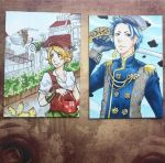 Steampunk ACEO by Tama-chan94