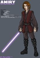 Amiry the Jedi. by amiry