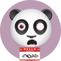 orvad the zombie panda by curiouslyindifferent