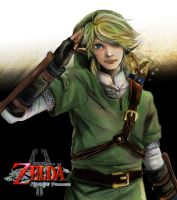 Twilight Princess Link by vanillatte54