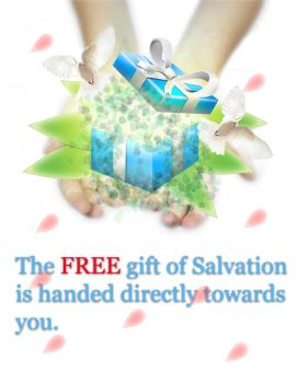 Free gift of Salvation by Andrewtom3d