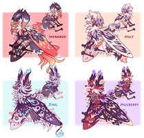 [CLOSED] Lepitsune Batch #12- AUCTION by jaywalkings