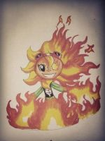 Doodle #2  SOLAR FLARE by Castervashira77