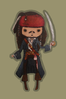 Jack Sparrow bb by mollay