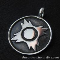Silver Sith pendant by Sulislaw