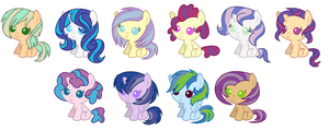 Vinyl Scratch Shipping Adopts CLOSED by Violet-BlueAdopts