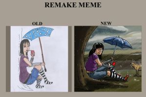 REMAKE MEME  is back o/ by Elyan-Dreams
