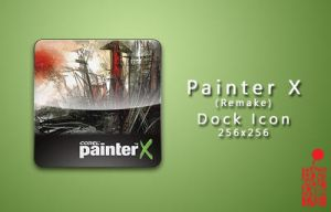 Painter X Dock Icon by BloodyMoogle