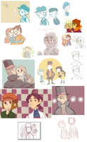 layton spam by WishingGirl