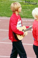 Taemin with a guitar by Lala561