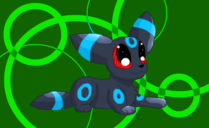 Shiny Umbreon by MochiFries