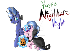 Filly Cadance Nightmare Night Special by Pinkie321Pie
