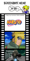 Screenshot meme--Naruto by Colliequest