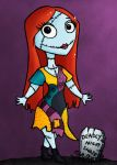 Sally Chibi - ACEO by NikkiWardArt
