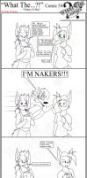 'What The' Comic 54 by TomBoy-Comics