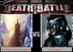 Death Battle: The Witch King vs The Kurgan by Thaeonblade