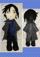 Cuddle Plush - Sherlock Holmes from the BBC by mihijime