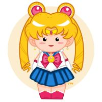 Sailor Moon Doll by PieIsADessert