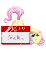 Hi I'm Assertive by Jewelscore