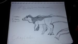 Behold!!!! CRAYLODON!! by Dinoal188